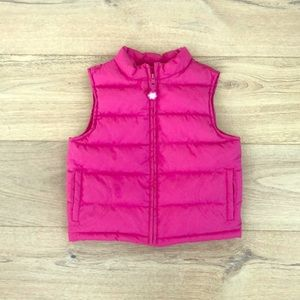 Gymboree pink puffer jacket age 5-6.